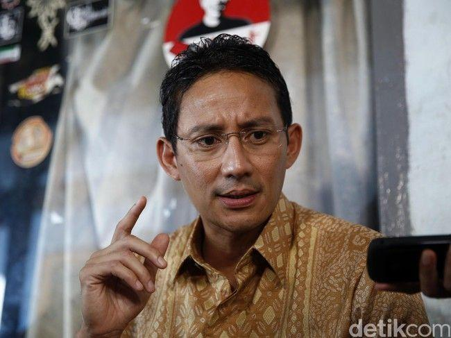 Lobi Yenny Wahid Masuk Timses, Sandi: Keputusannya Kita Support