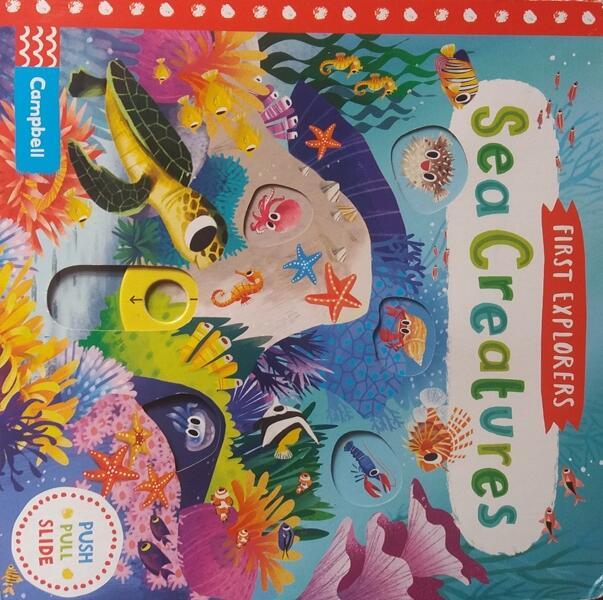 #AslinyaLo First Explorers : Sea Creatures, Buku Yang Merangsang Syaraf Motorik Anak