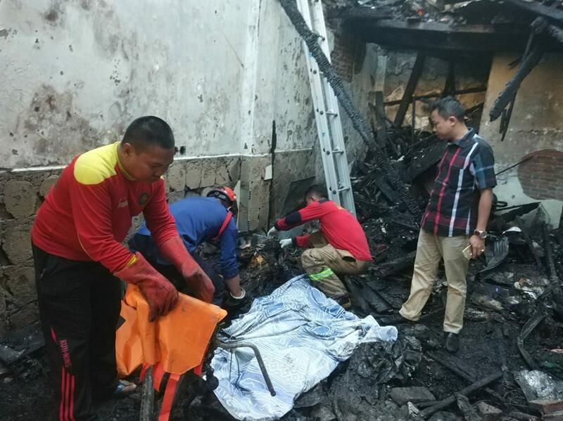 Dua Ruko Terbakar di Makassar, Tiga Tewas