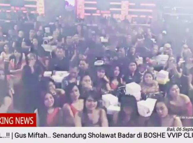 Ini Tujuan Ulama Ajak Selawat Pemandu Karaoke di Klub Malam Bali