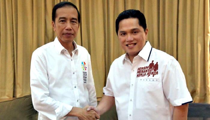 Erick Thohir Dinilai Bakal Berjibaku dengan Kinerja Ekonomi Jokowi yang Buruk