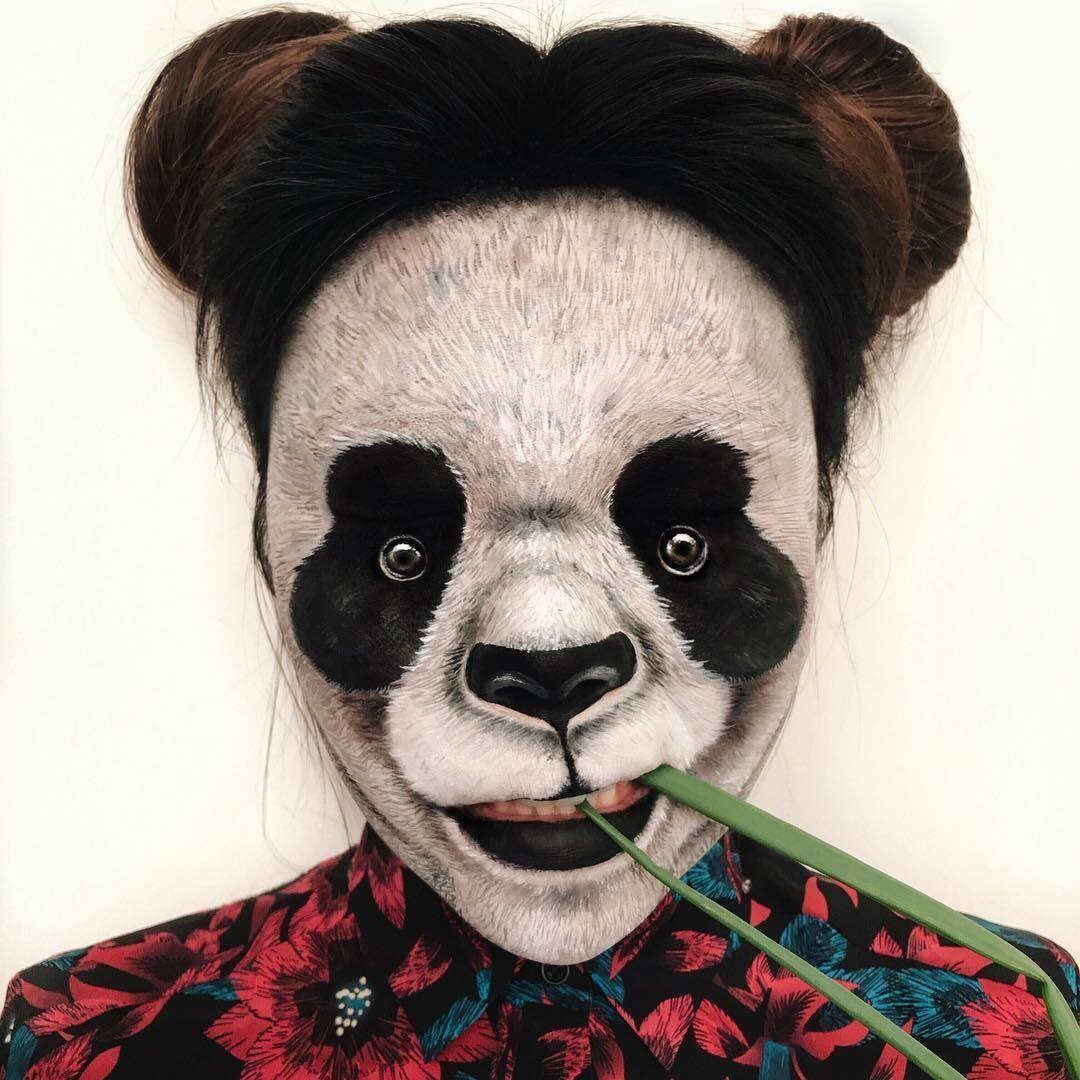 22 Potret Kreativitas Mimi Choi, MUA yang Jago Bikin Ilusi Optik