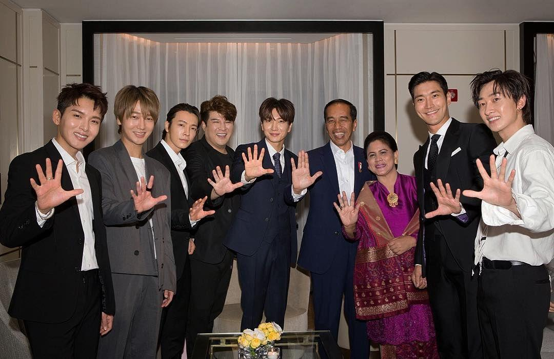 Bro Banget, 10 Kedekatan Jokowi dan Super Junior di Korea Selatan