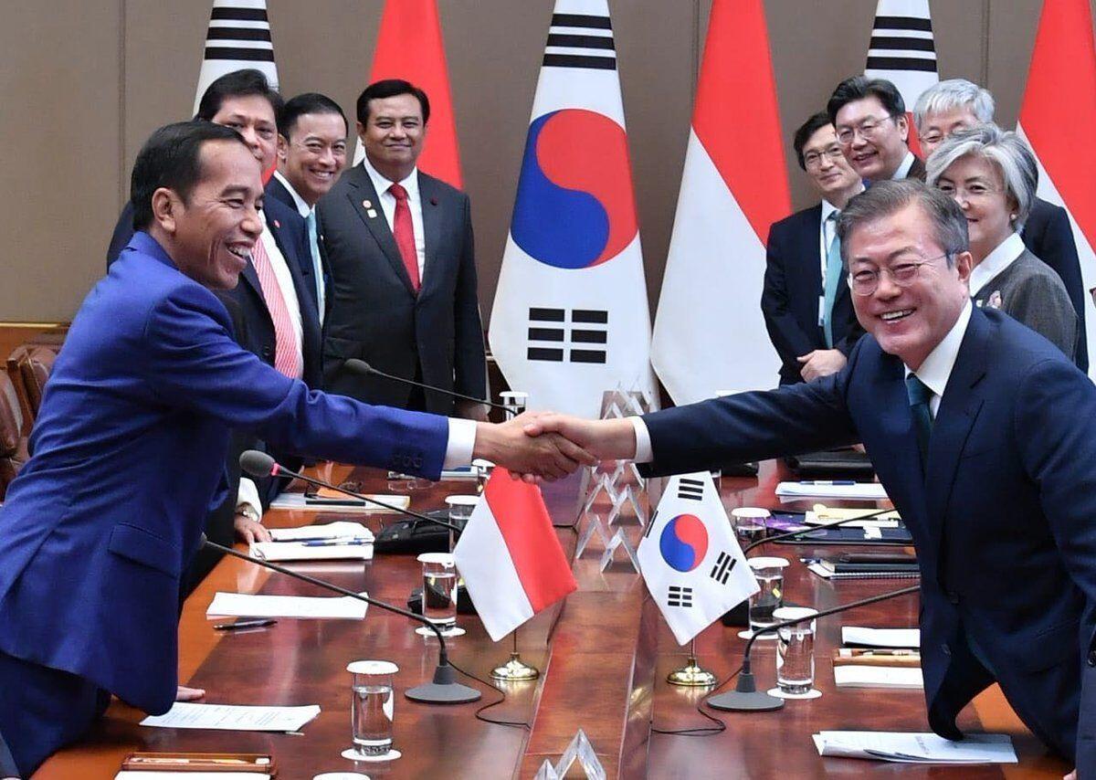 Presiden Korsel Tulis Pesan Khusus Dalam Bahasa Indonesia Bagi Jokowi