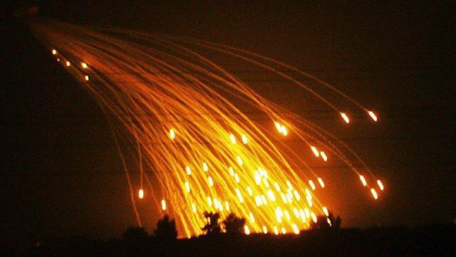 Rusia Tuduh Pesawat Tempur AS Tembakkan Bom Fosfor Putih di Suriah