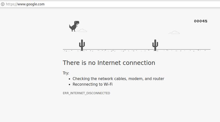 Orang Indonesia Kecanduan Main Dinosaurus 'Offline' di Google