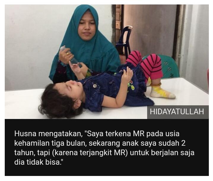 Aceh 'terancam tsunami Rubella': Plt Gubernur perintahkan penundaan vaksinasi kendati
