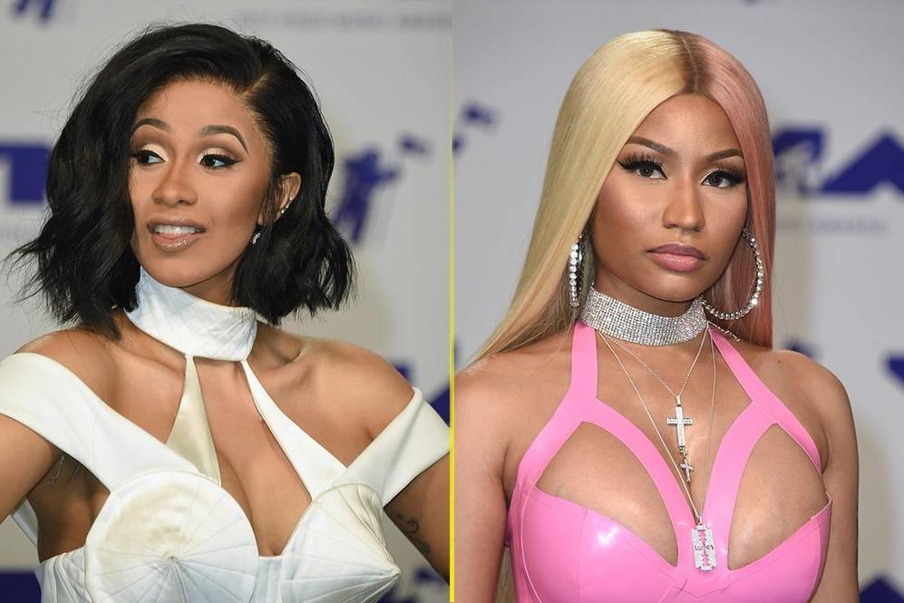 Penyebab perkelahian Cardi B vs Nicki Minaj hingga model down syndrome di NYFW