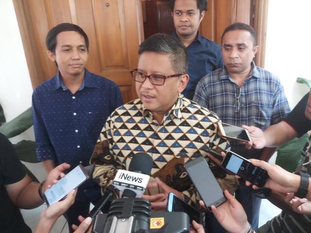 Koalisi Jokowi-Ma'ruf Ogah Menuding Demokrat 'Dua Kaki'