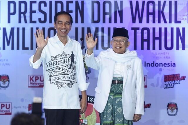 Ketua Pemenangan Jokowi-Ma'ruf di Aceh dan Papua Masih Disimpan