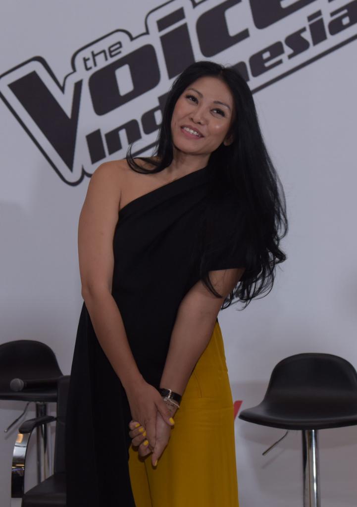 Anggun C Sasmi Jadi Coach di The Voice Indonesia