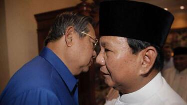 SBY Jadi Penasihat Prabowo