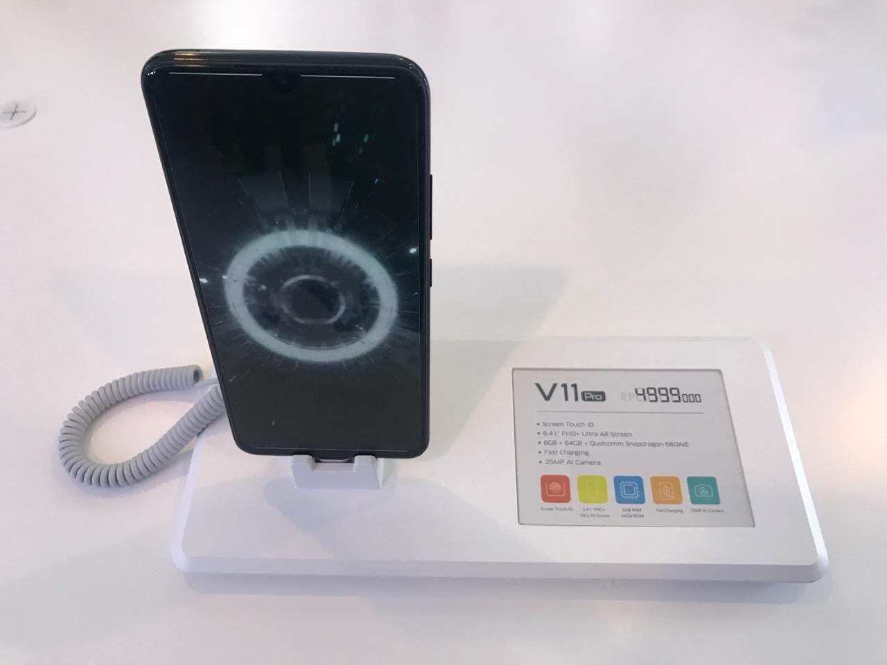 Vivo V11 Pro Resmi Meluncur di Indonesia, Ini Dia Harganya!