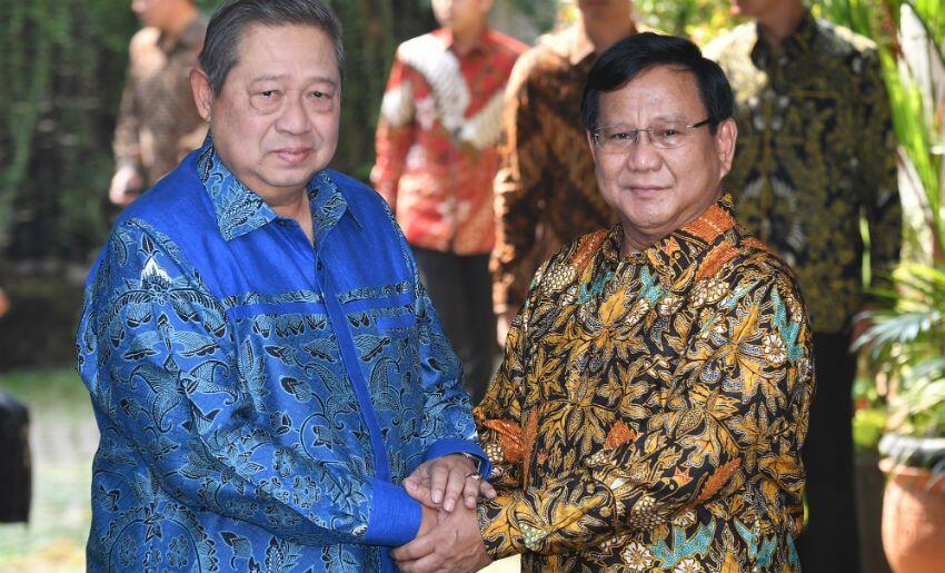 Sore Ini Prabowo-Sandiaga Bertemu SBY, Ini yang Akan Dibahas
