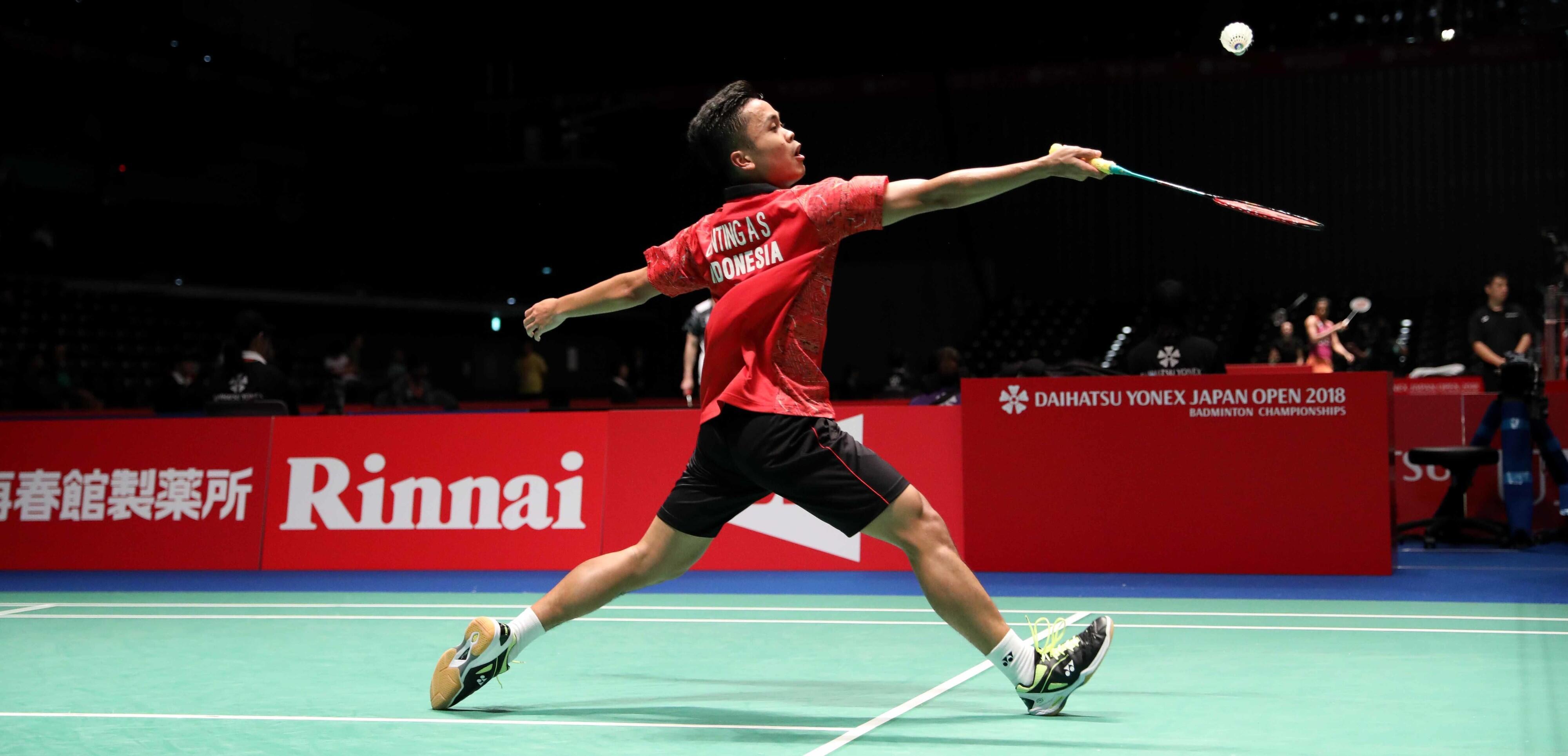Japan Open 2018: Anthony Ginting Lolos, Jonatan Christie Tersingkir