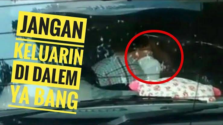 Longok Suami Bawa Mobil Ternyata di Situ Ada WIL