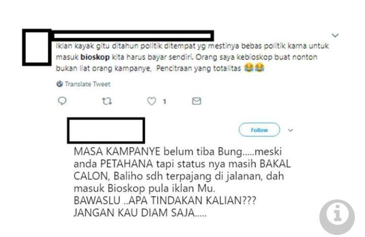 Netizen Protes Iklan Pemerintahan Jokowi di Bioskop, Ini Tanggapan Istana