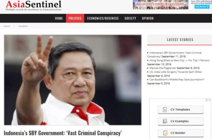 Media Asing Beber, Pemerintahan SBY Curi Pajak Rp 117 T