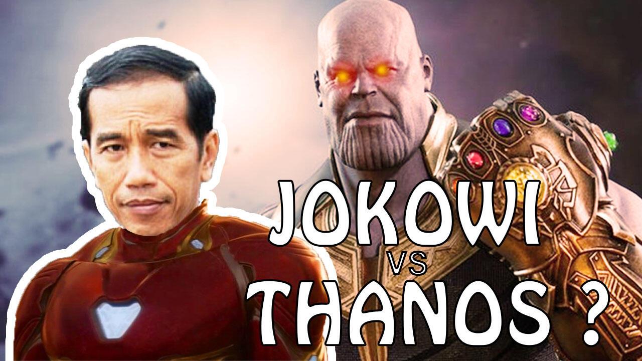 Infinity War! Jokowi Siap Jadi Avengers Untuk Cegah Thanos?