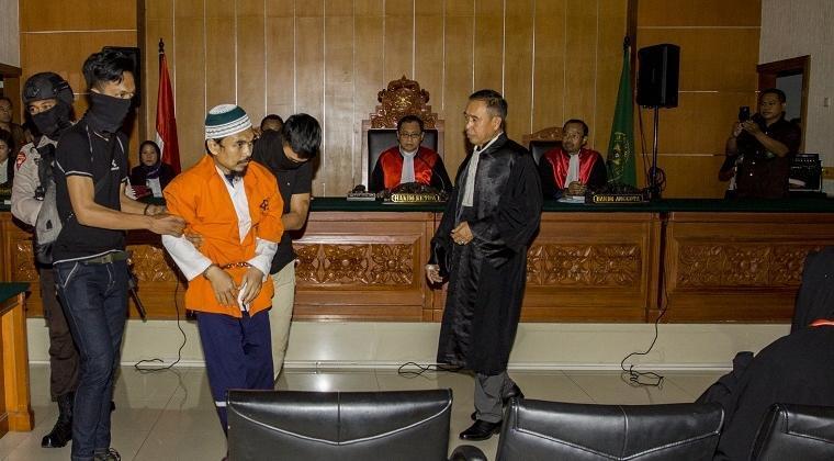 Pemimpin JAD Riau Divonis 11 Tahun Penjara
