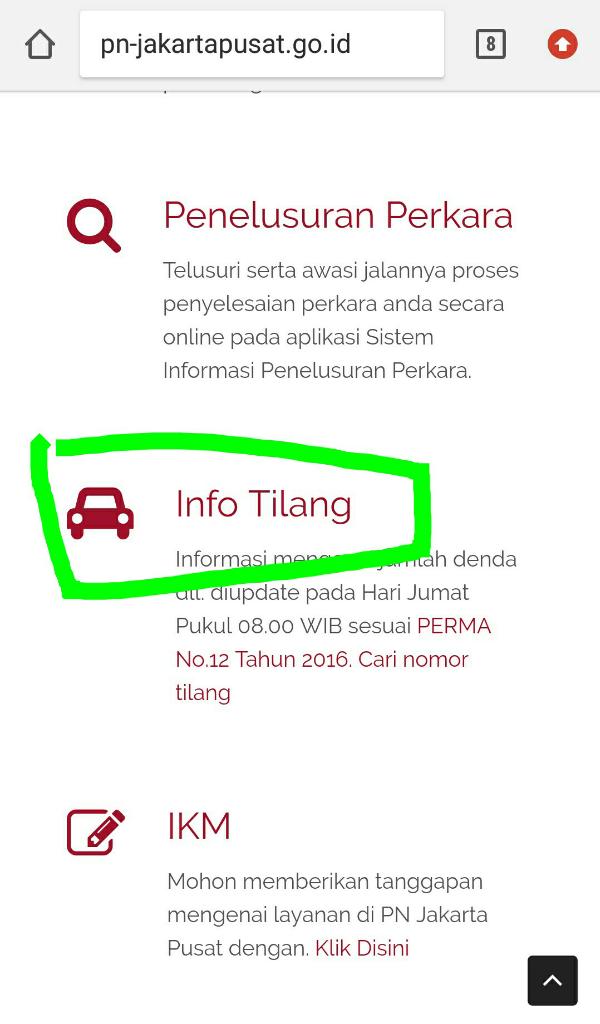 """[SHARE]""""Ambil Tilangan di Kejaksaan Jakarta Pusat"""", Tapi adakah yang aneh??"""