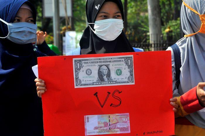 Risiko terjadinya krisis mata uang di Indonesia dinilai kecil