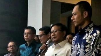 Prabowo : SBY Godfather Mentor Saya, Kami Akan Memberantas Korupsi