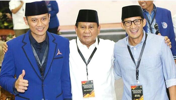 Sikap Politik Partai Demokrat Dinilai Tak Menguntungkan Prabowo-Sandi