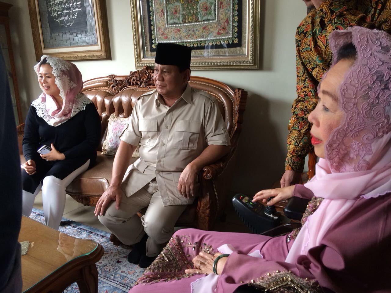 Kepada Prabowo, Sinta Bercerita Soal Kursi Bolong Gara-gara Gus Dur