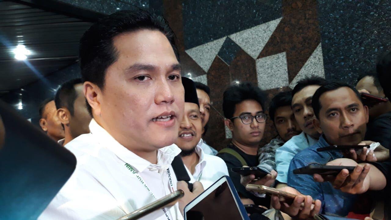 Erick Thohir Jadi Timses Jokowi-Ma'ruf, Harga Saham ABBA Menguat