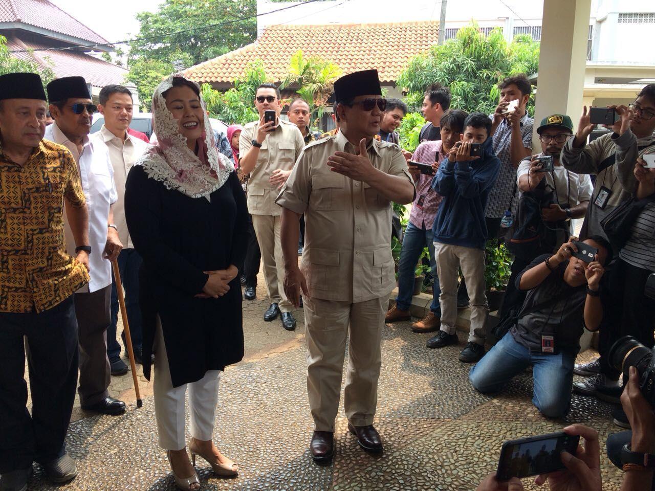 Bantah Usung Khilafah, Prabowo: Saya Pertaruhkan Nyawa untuk Pancasila