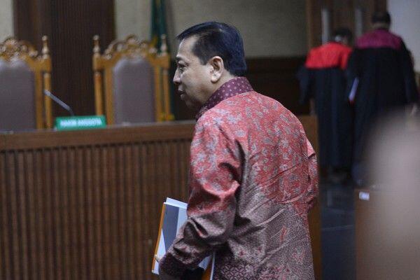 Setya Novanto Bayar Cicilan Ketiga Uang Pengganti Kasus KTP Elektronik