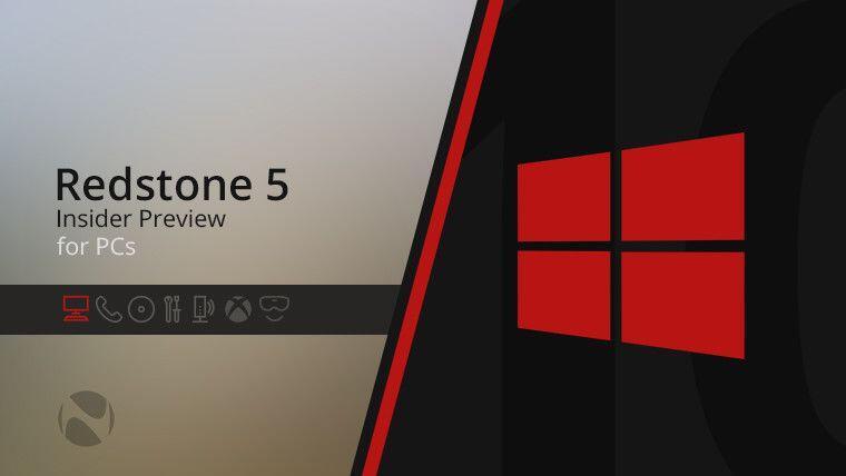 Bocoran Deret Fitur Baru Update Windows 10 Redstone 5 di Oktober 2018!