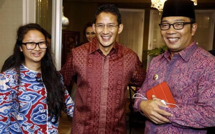Saling Sindir Sahabat: Ridwan Kamil vs Sandiaga Uno