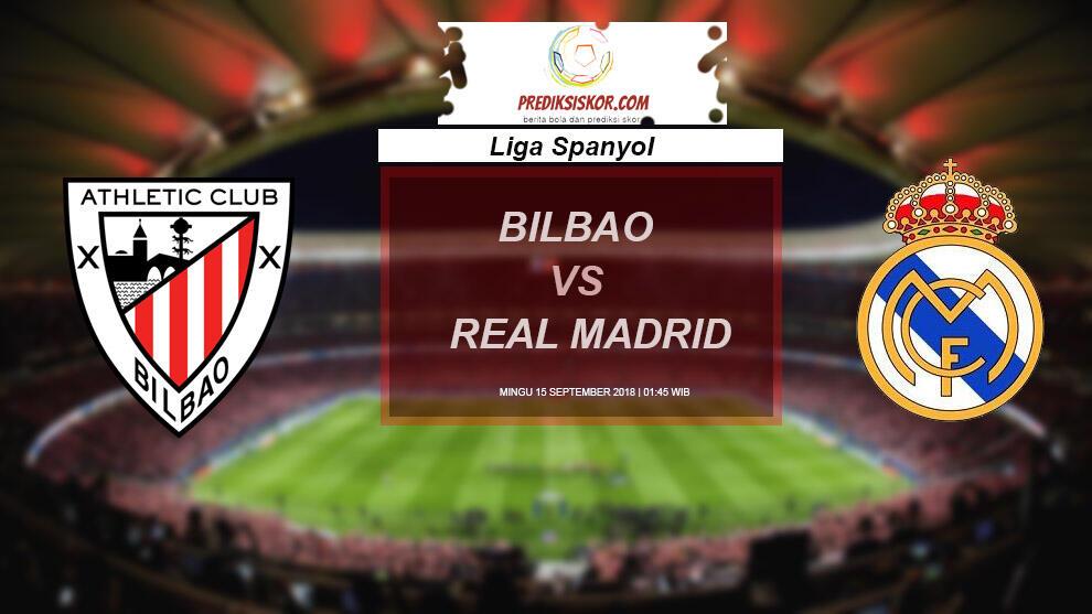 Prediksi Athletic Bilbao vs Real Madrid 16 September 2018 Prediksi Jitu Parlay