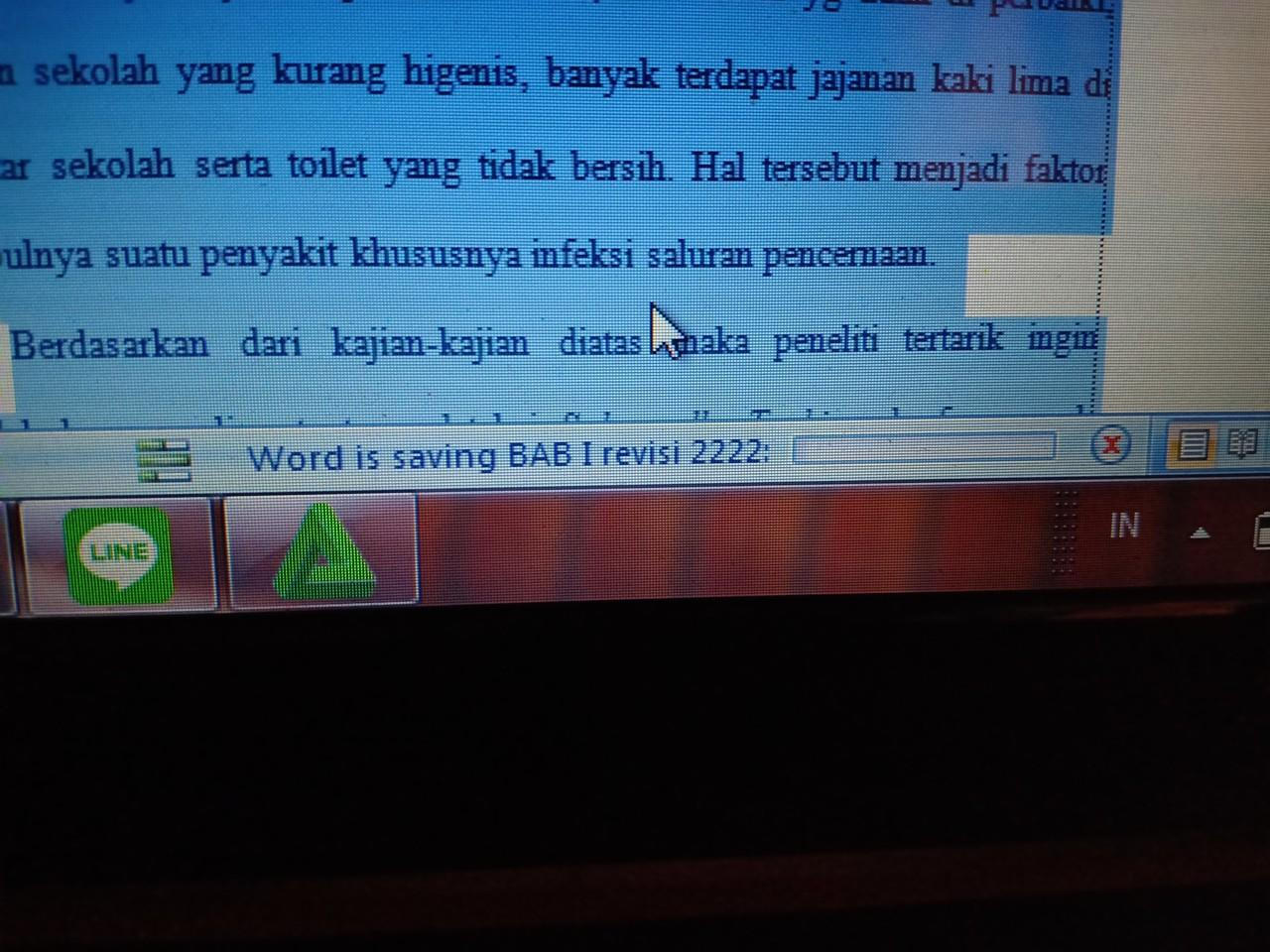 Save error