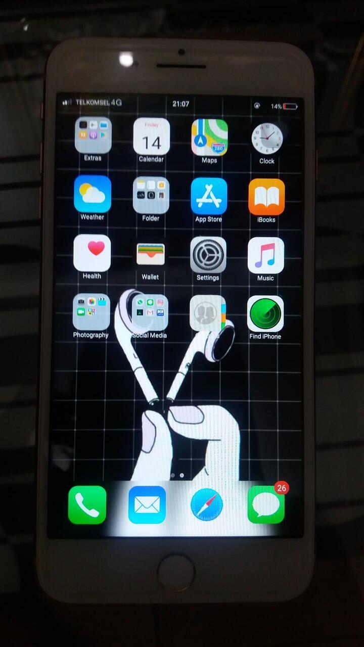 Iphone 8+ HDC Premium KW Super 90% LIKE ORI