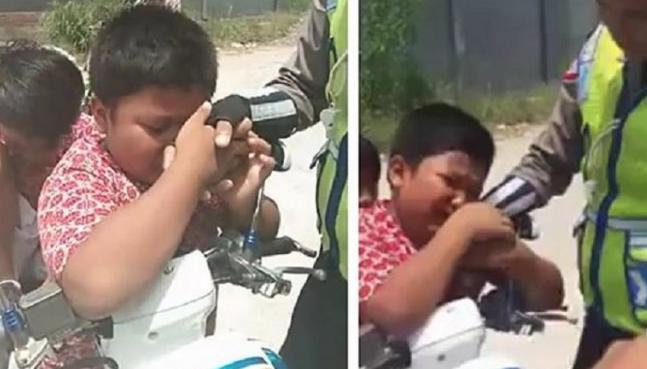Bocah SD yang Ditilang Polisi Nangis, Kini Jadi Duta Sepeda
