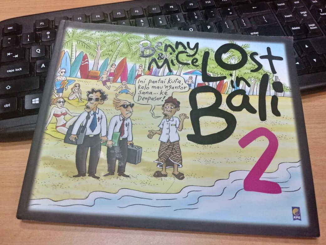 #ASLINYALO REVIEW KOMIK BENNY & MICE LOST IN BALI 2 BY Filandrion