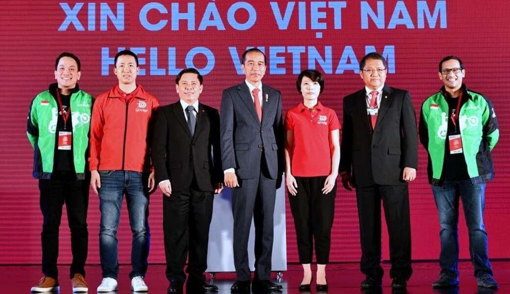 Go-Viet Resmi Meluncur, Jokowi Beri Selamat ke Go-jek