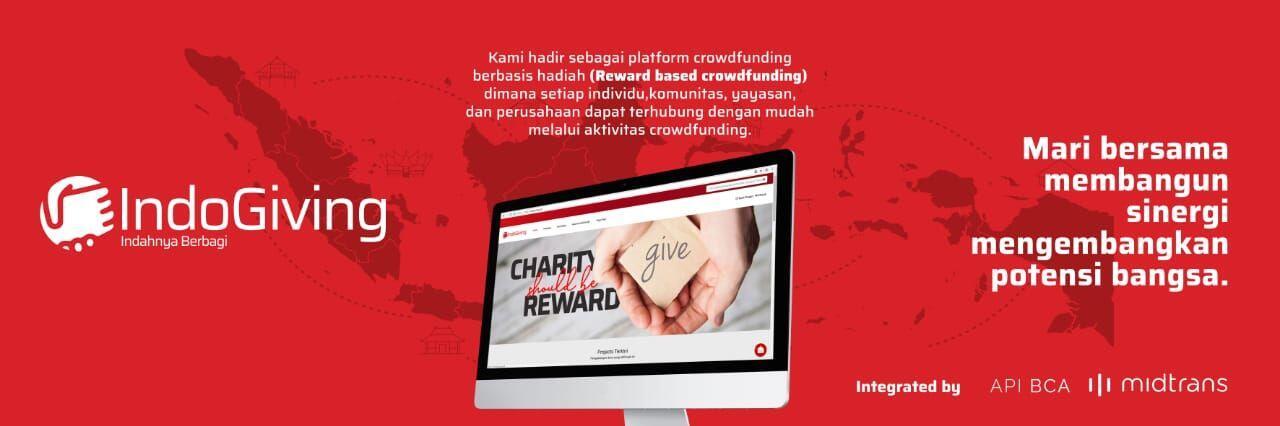 IndoGiving:Platform Crowdfunding Online untuk Ragam Proyek Terpercaya