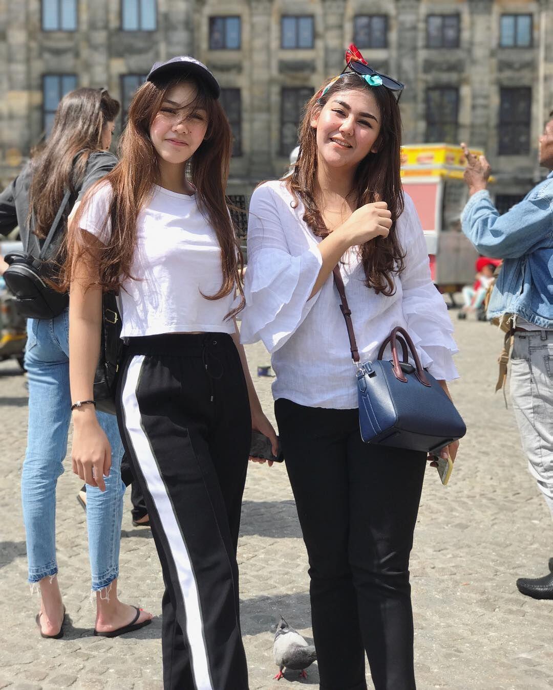 5 Gaya Vanesha 'Milea' Vs Sissy 'Milly', Saudara yang Seperti Kembar!