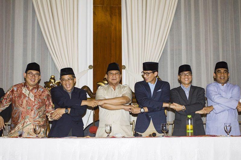 Prabowo-Sandiaga Pastikan Gandeng Ulama dalam Tim Pemenangan