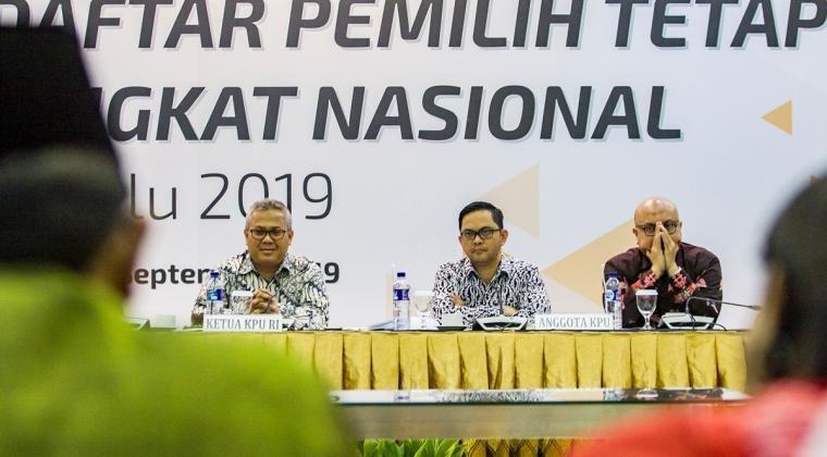 KPU Dituntut Maksimal Memvalidasi DPT
