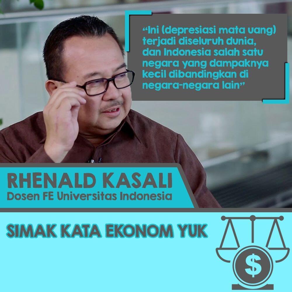 Rhenald Kasali: Saya Ilmuwan, Diajak Bicara Dollar AS Saja Tidak Berani