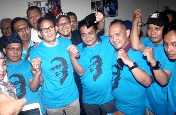 Sandiaga Sebut Lebih dari 15 Relawan Jokowi Pindah ke Prabowo