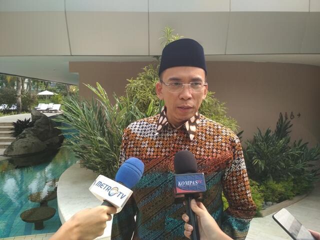 TGB akan Fokus Menangkan Jokowi-Ma'ruf