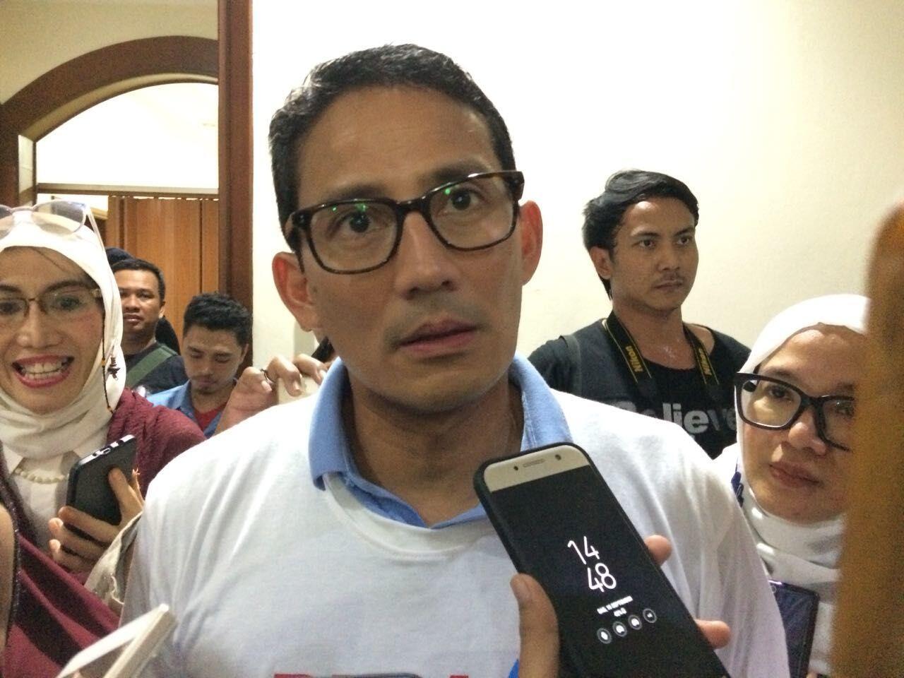 Sandiaga Ajak Putra Sulung BJ Habibie Masuk Tim Pemenangan Prabowo