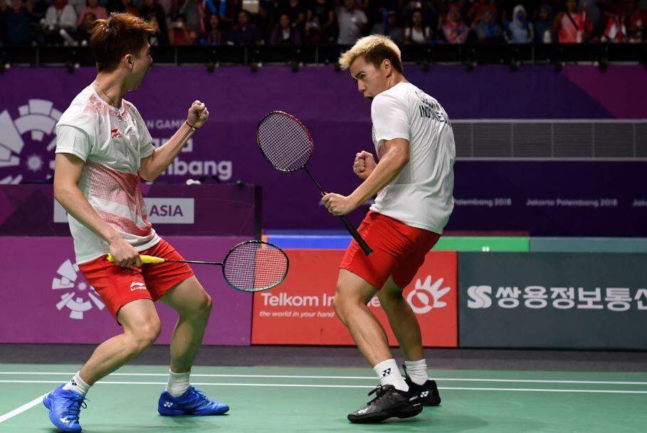 Japan Open 2018: Kevin/Marcus Melaju ke Babak Final!