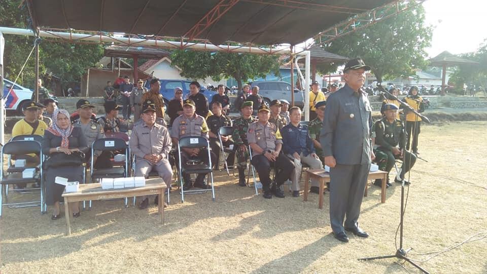 Polres Majalengka Gelar Apel Konsolidasi Operasi Mantap Praja Lodaya 2018